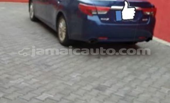 Buy Used Toyota Mark X Blue Car in Lucea in Hanover